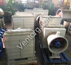 Калорифер с вентилятором АО 2-4 воздушно-отопительный агрегат
