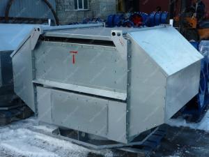 Купите крышный вентилятор дымоудаления ВКРВм-8 ДУ у производителя