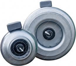 Купить круглый канальный вентилятор КВКр-100 мм
