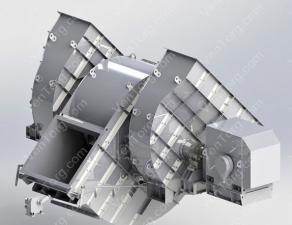 Промышленный дымосос-пылеуловитель ДП-12