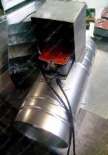Клапан круглый противопожарный канальный 125 мм цена со скидкой