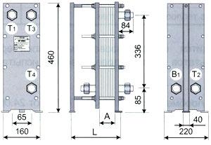 ТОР-04 трёхходовой для ГВС с циркуляциооной линией
