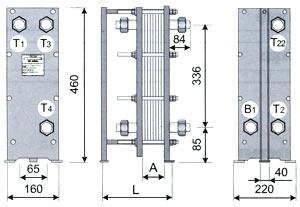 ТОР-04 трёхходовой для ГВС (двухступенчатая смешанная схема)