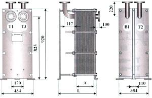 Двухходовой теплообменник - ТОР-15