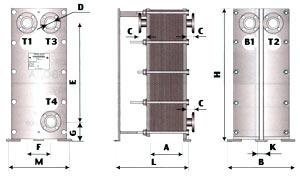 ТОР-ДО, ТОР-Д1 - двухходовой теплообменник для ГВС с циркуляционной линией