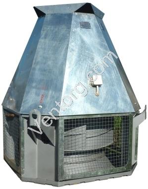 Вентилятор дымоудаления промышленный крышный