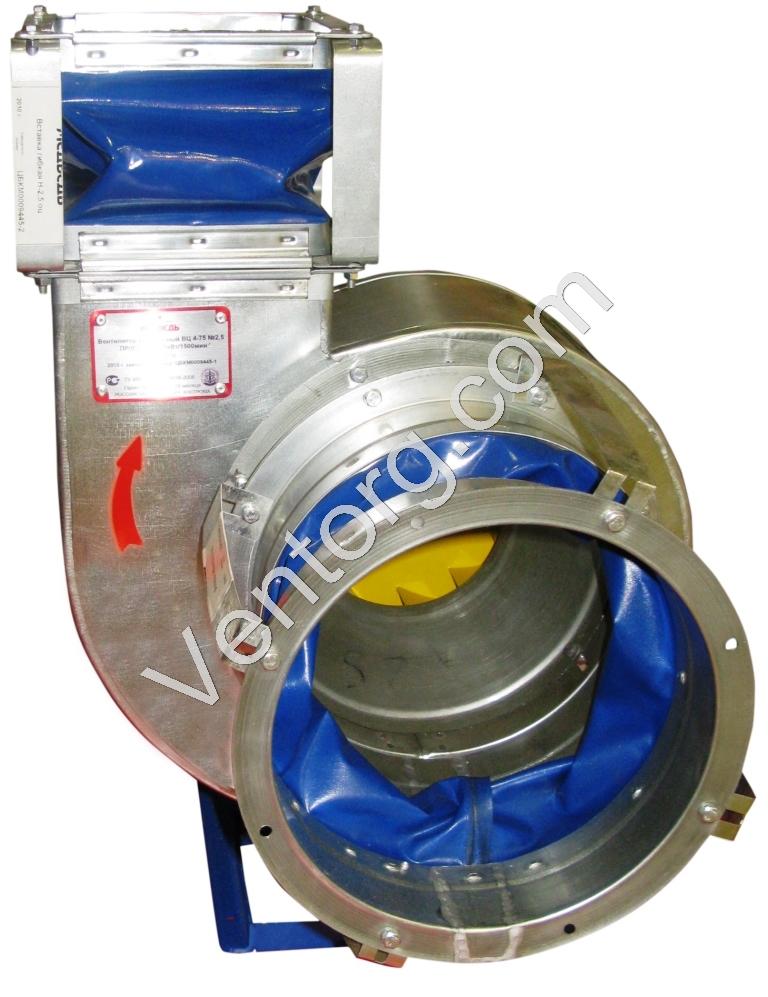 Вентилятор промышленный вытяжной