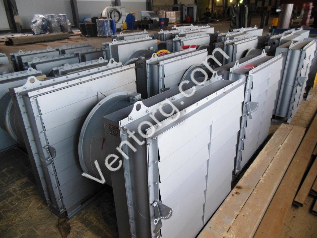 Воздушно-отопительные агрегаты АО