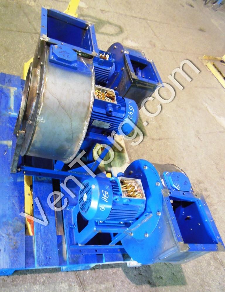 Вентилятор ВЦ 14-46 изготовление и сборка