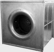 Канальный вентилятор в квадратном корпусе