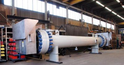 Производство кожухотрубных пароводяных подогревателей ПП1 и ПП2