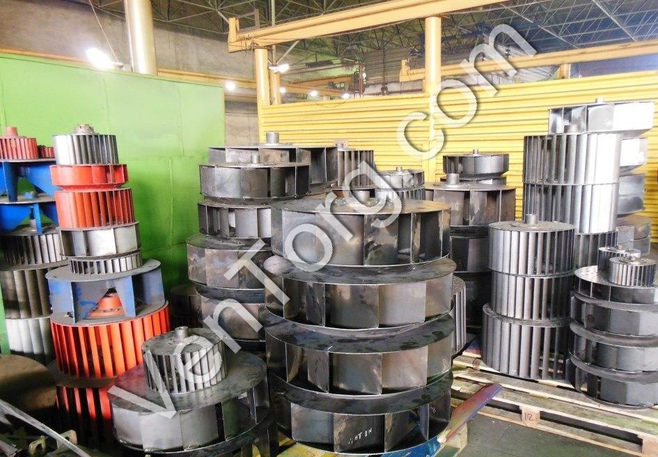 ВЦ 14-46 изготовление рабочих колес для промышленных вентиляторов