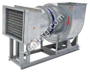 Калорифер электрический используется при изготовлении установок ЭКОЦ