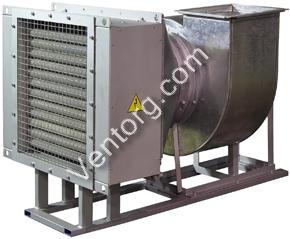 Воздухонагревательные установки электрические УВНЭ