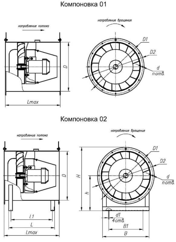 ВО 30-160-10 габаритные и присоединительные размеры