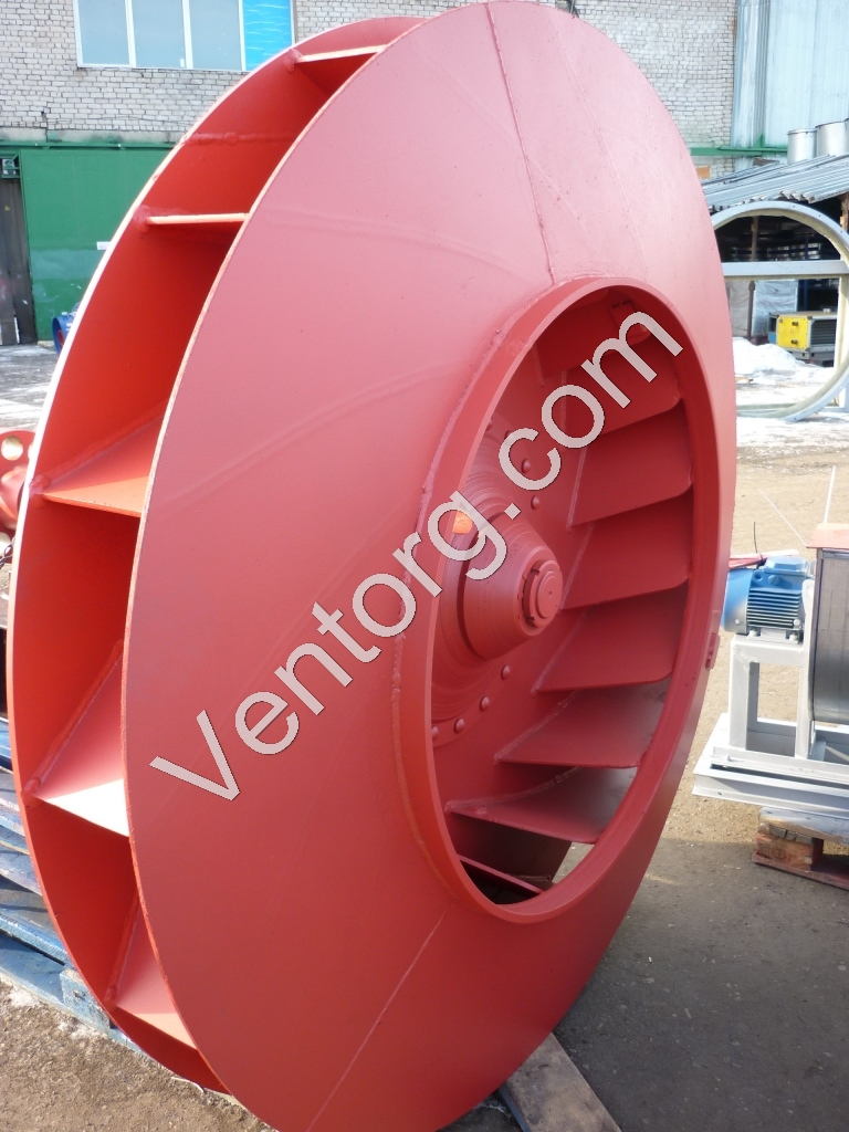 Вентилятор мельничный ВМ-15