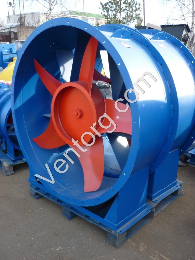 Вентилятор осевой взрывозащищенный ВО 14-320-8