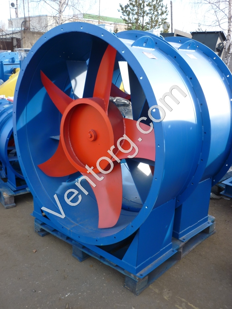 Вентилятор осевой вытяжной ВО 14-320-10