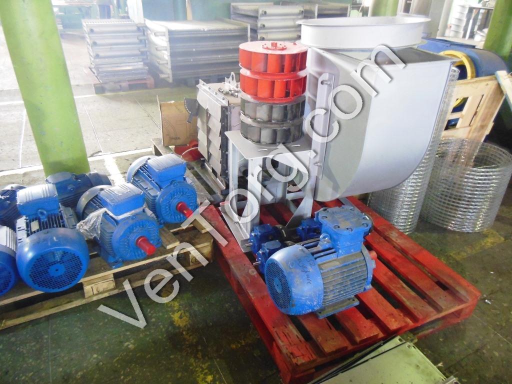 Вентилятор промышленный ВЦ 14-46-5 производство и продажа