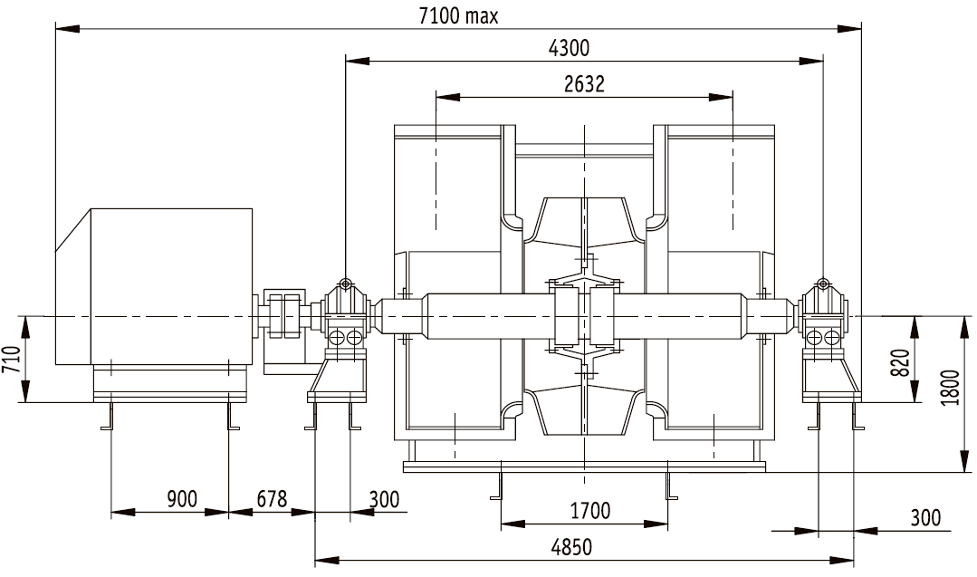 Д-20х2 общий вид и габаритные размеры
