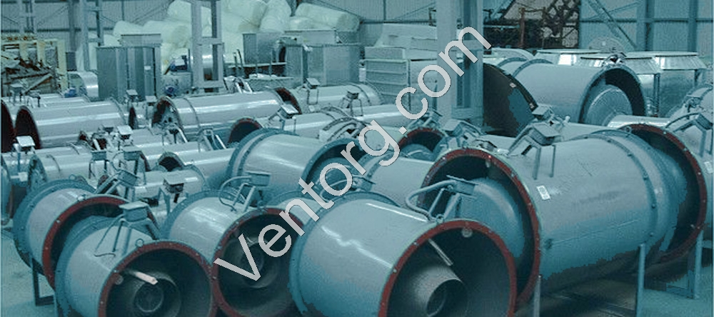 Купить ВО 30-160-6,3 осевые вентиляторы подпора воздуха цена