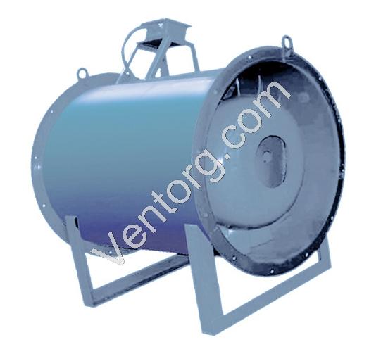 Осевой вентилятор подпора ВО 30-160-9
