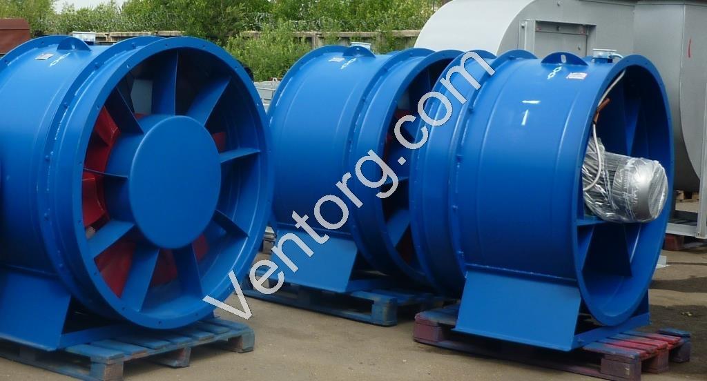 вентилятор осевой промышленный ВО 25-188-10