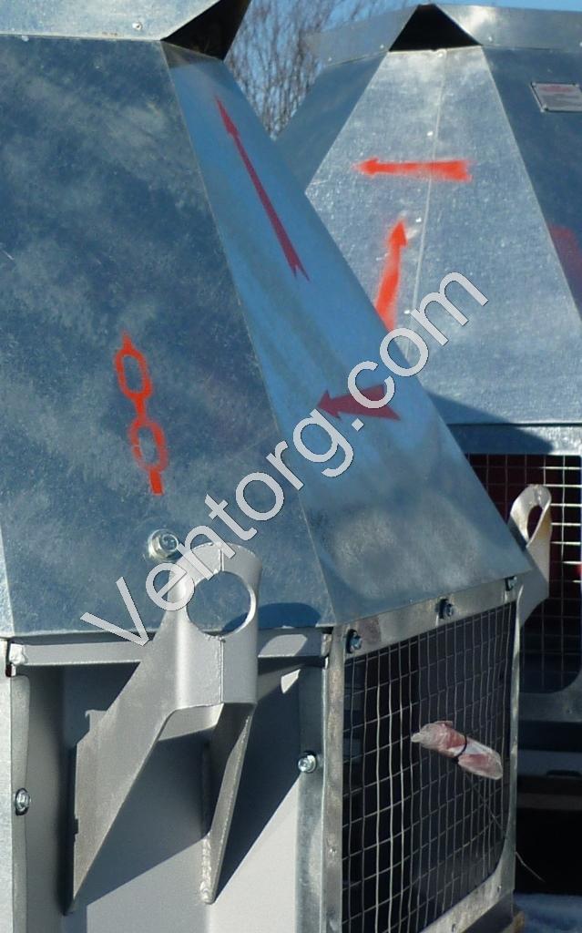 ВКРС-8 крышные вентиляторы оптом