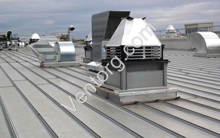 Вентиляторы крышные промышленные ВКРС-12,5 доставка
