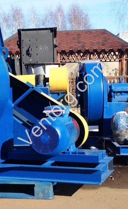 Вентиляторы центробежные пылевые ВР 140-40-8