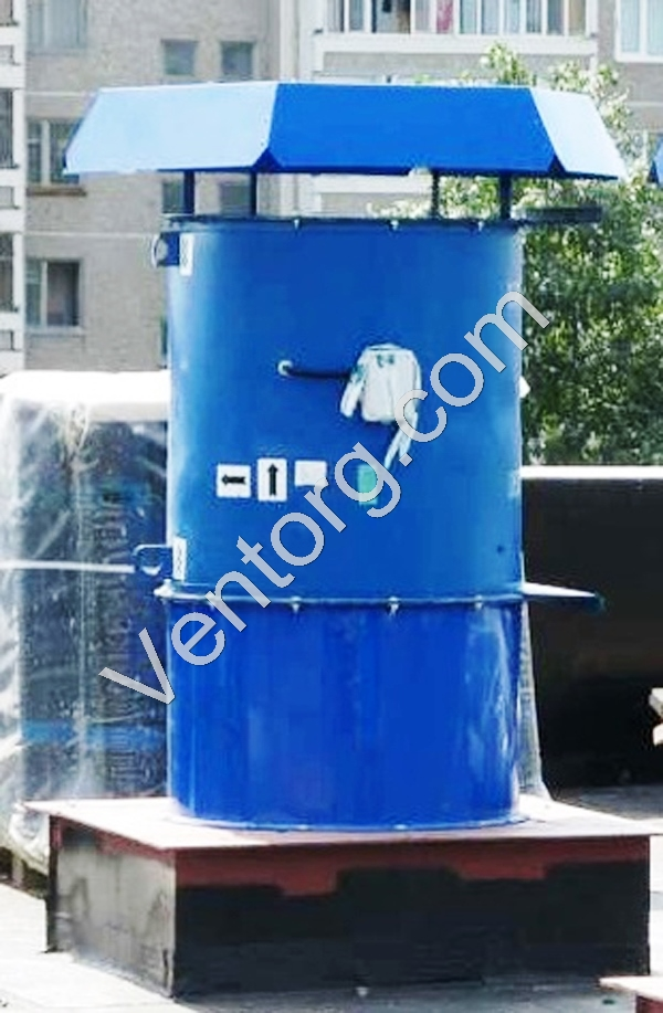 Вентилятор ВКОП 30-160-7,1