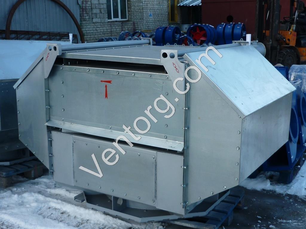 Вентилятор крышный радиальный ВКРВ-11,2