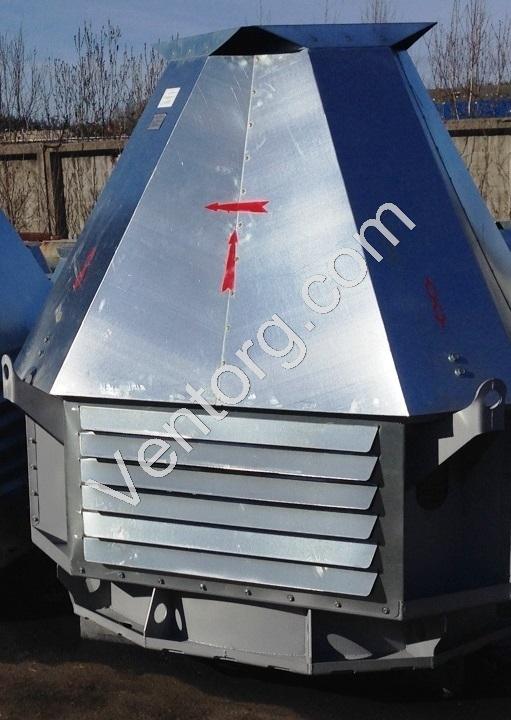 Вентилятор крышный радиальный ВКР-6,3