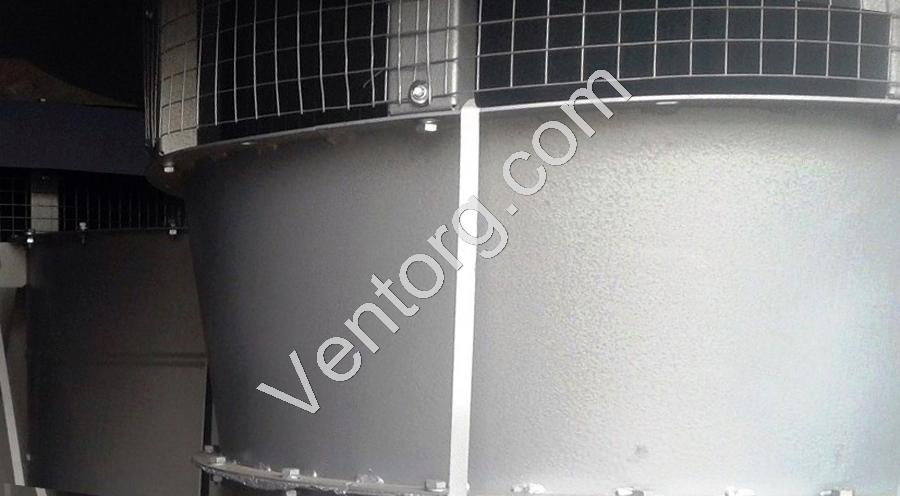 Вентилятор подпора воздуха ВКОП 30-160-11,2