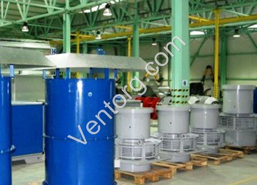 Вентилятор подпора крышный ВКОП 25-188-11,2