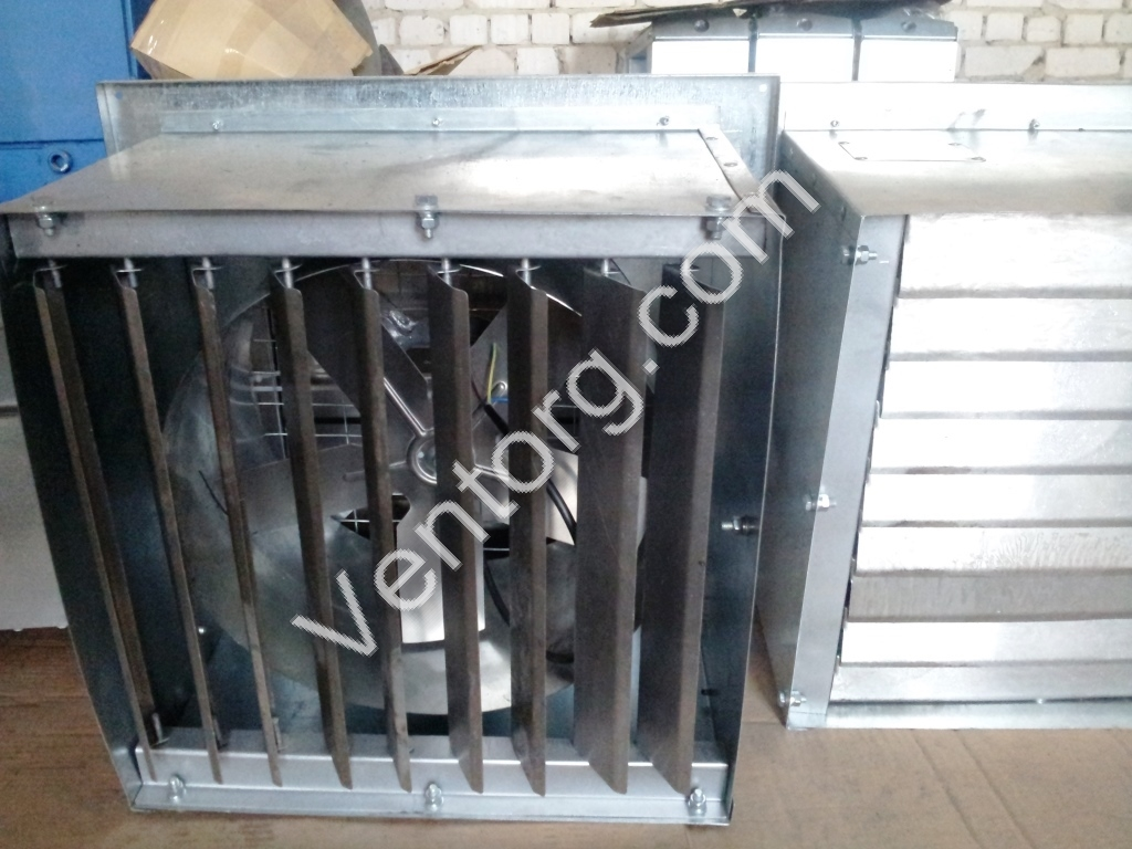 Вентилятор с жалюзи ВО-3,5