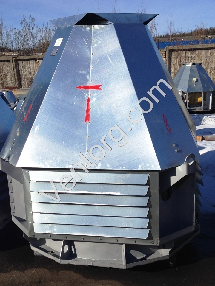 Крышные вентиляторы ВКР-4 цена