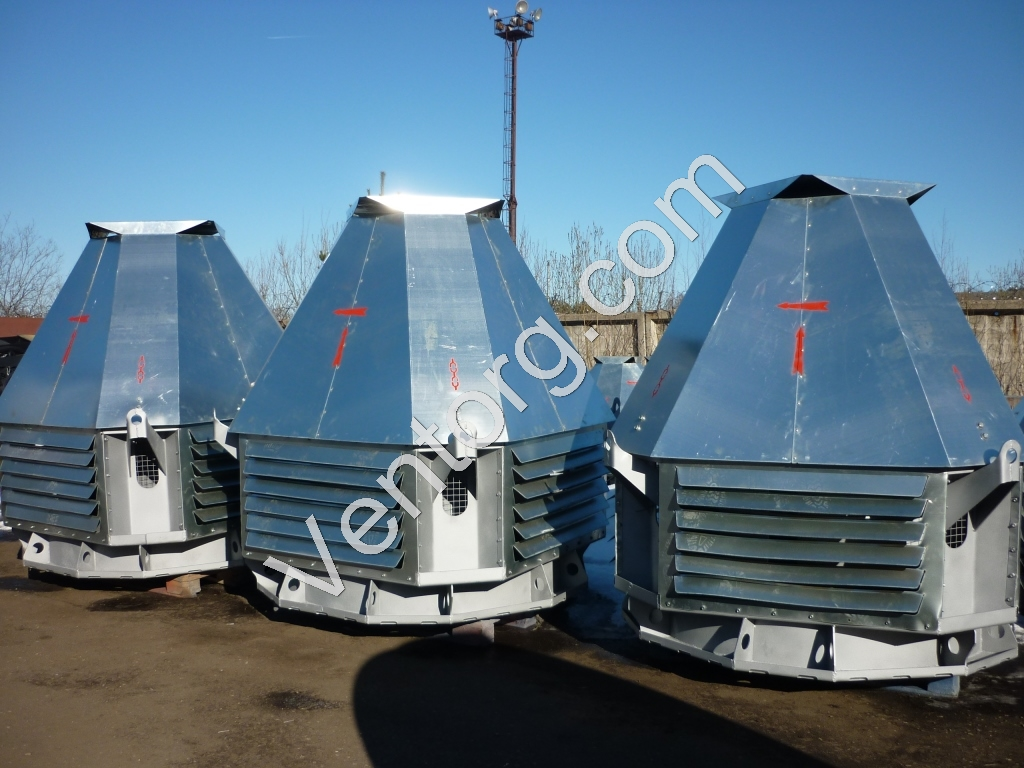 Крышные вентиляторы ВКР-4