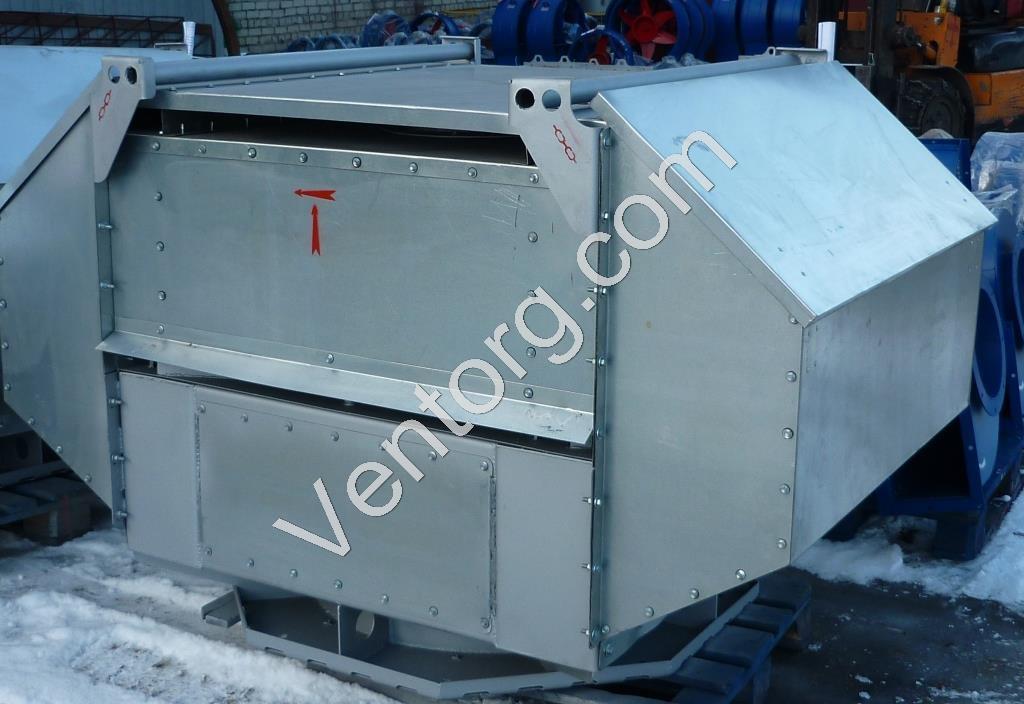 Крышные вентиляторы взрывозащищенные ВКРВ-5 доставка