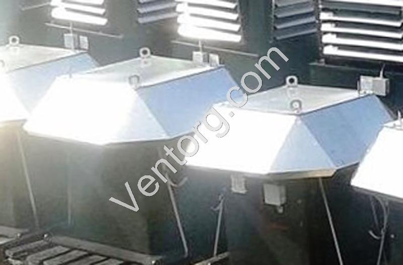 Крышный вентилятор подпора воздуха ВКОП 30-160-12,5 продажа