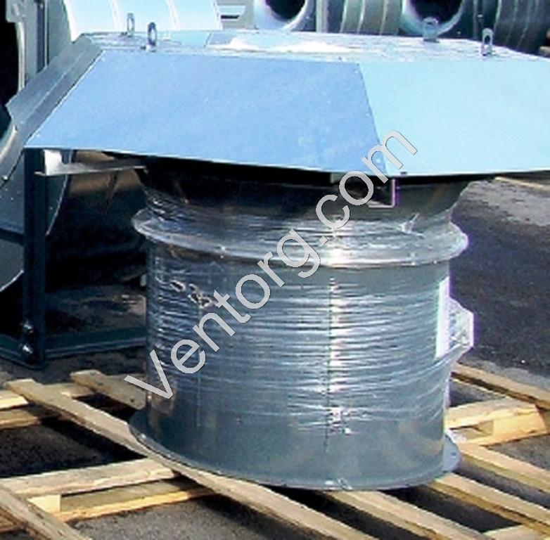 Крышный вентилятор подпора воздуха ВКОП 30-160-12,5
