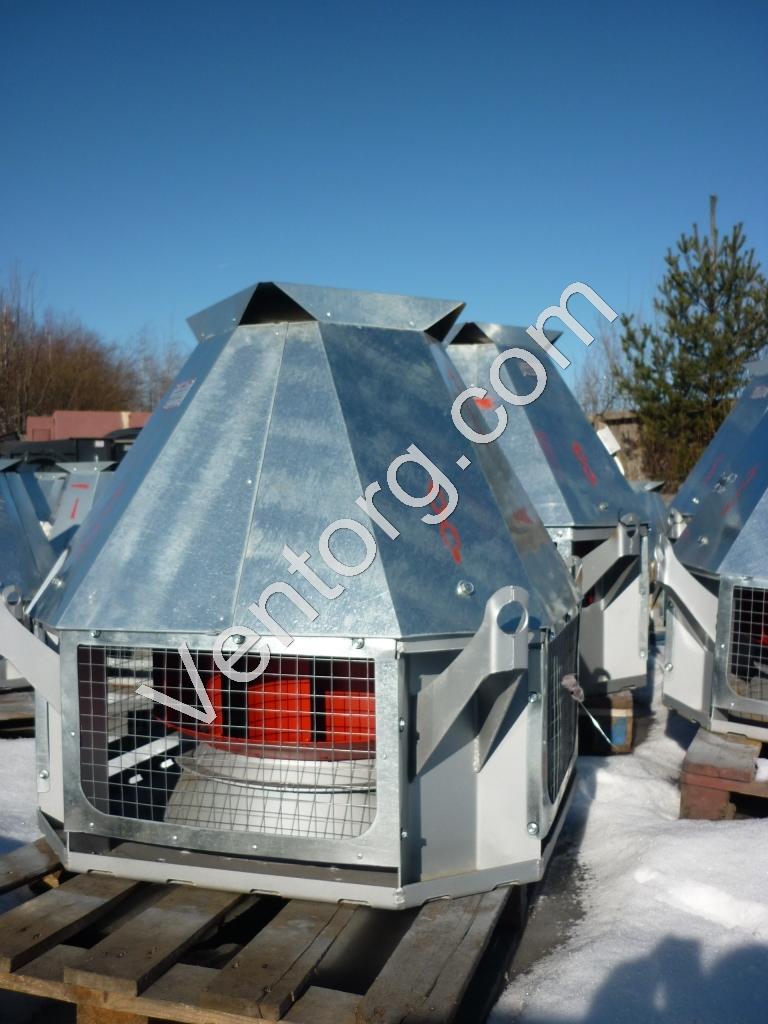 Купить вентилятор крышный радиальный ВКР-6,3