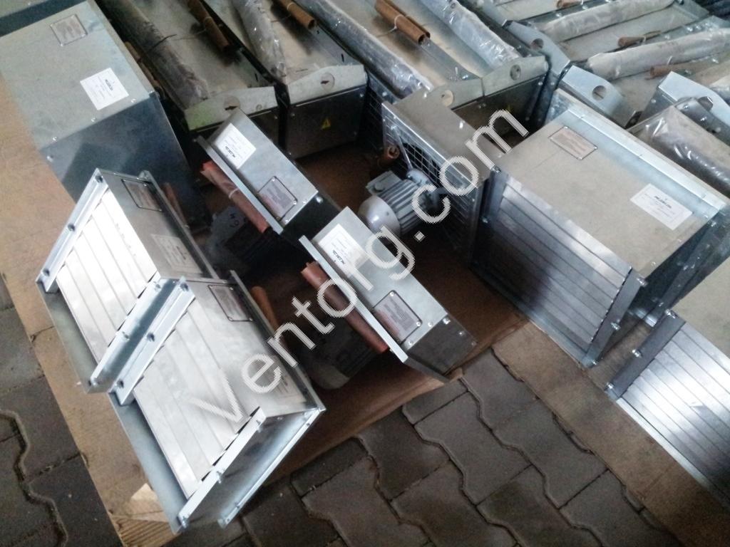 Осевые вентиляторы для вытяжки ВО-5,6 цена