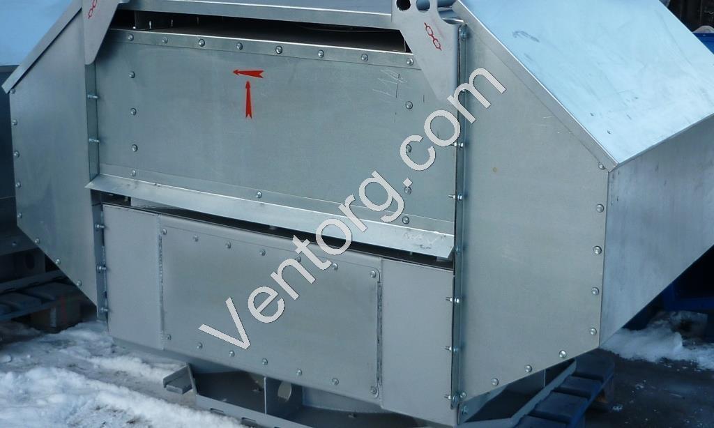 Промышленный крышный вентилятор ВКРВ-10 цена