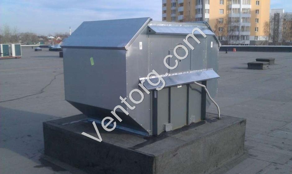 Промышленный крышный вентилятор ВКРВ-10