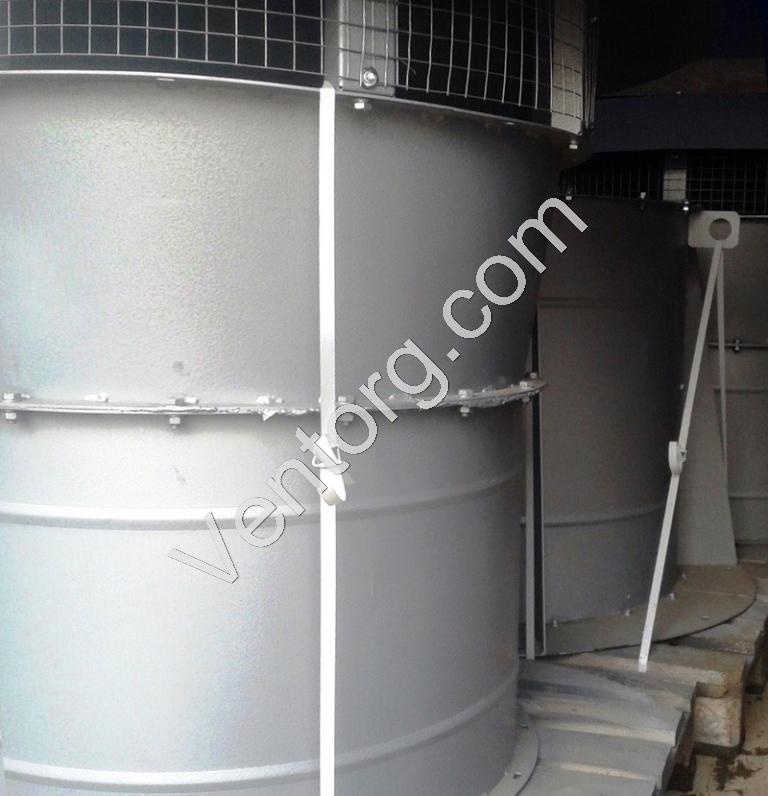 Промышленный крышный вентилятор подпора воздуха ВКОП 30-160-10 купить