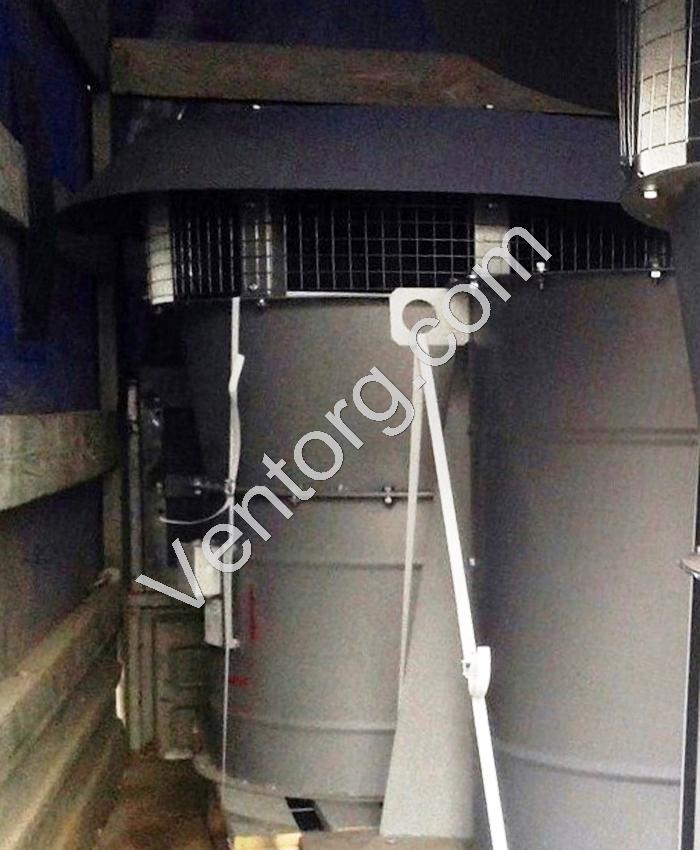 крышные вентиляторы подпора ВКОП 30-160-9