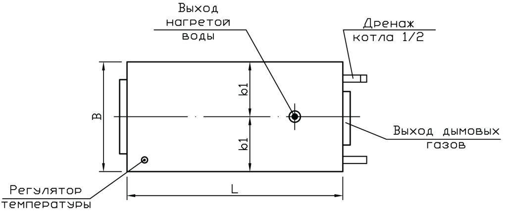 Газогенераторный котел Буржуй-К СТАНДАРТ-10
