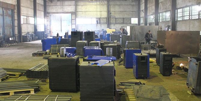 Производство котлов Гейзер ПК-50
