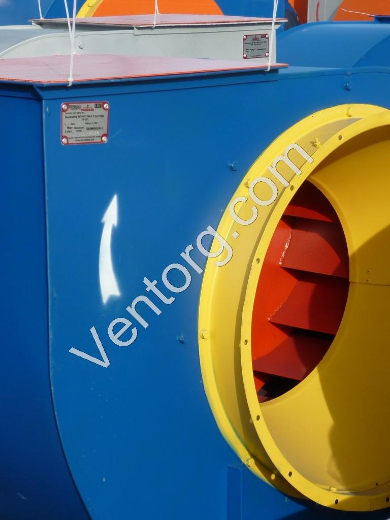 ВЦ 4-75-12,5 промышленный вентилятор низкого давления